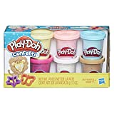 Hasbro Play-Doh Confetti Collection with 6 Non-Toxic Colors