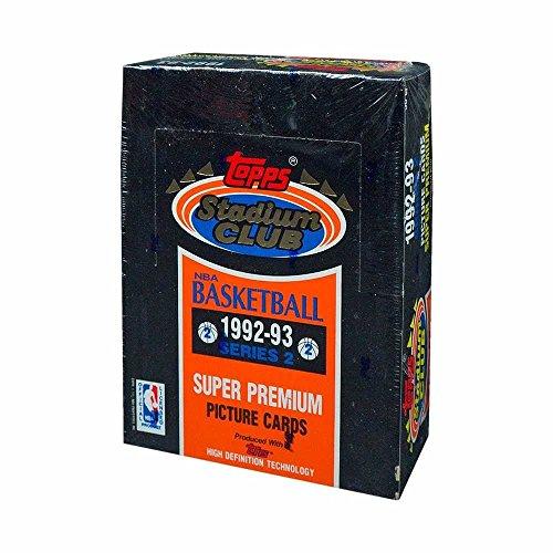 1992 Stadium Club (1992-93 Topps Stadium Club Series 2 Basketball Box)