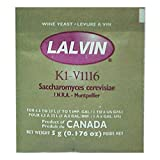3x Lalvin ICV K1 V1116 Yeast White Wine 5g Sachet