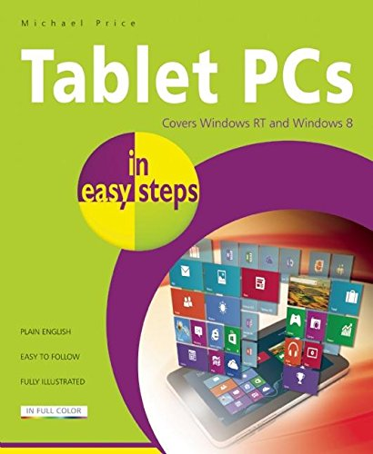 Price comparison product image Tablet PCs in easy steps: Covers Windows RT and Windows 8