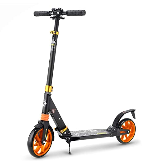 AFDK Kick scooter plegable ajustable del retroceso de 130 ...