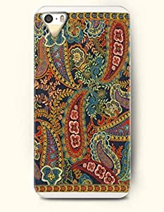 TYH - OOFIT Apple iPhone 4/4s Case Paisley Pattern ( Retro Scottish Tear Shape Flower and Leaf ) ending phone case
