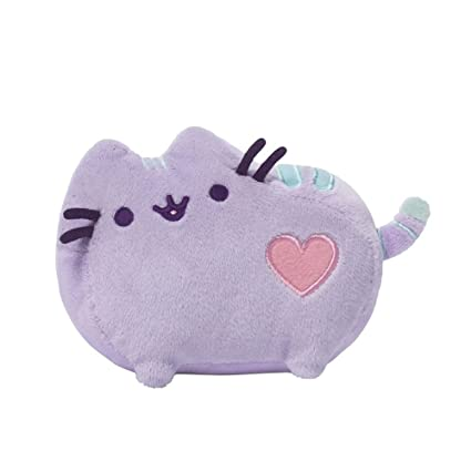 e7e83c5f6 Amazon.com  GUND Pusheen Heart Pastel Cat Plush Stuffed Animal ...