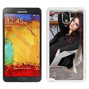NEW Custom Designed For Iphone 5C Case Cover Phone With Selena Gomez Brown Long Hair_White Phone