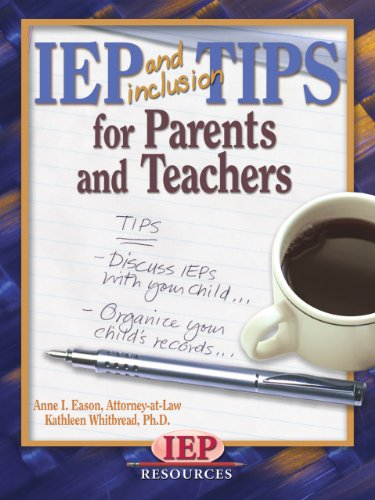 IEP and Inclusion Tips for Parents and Teachers