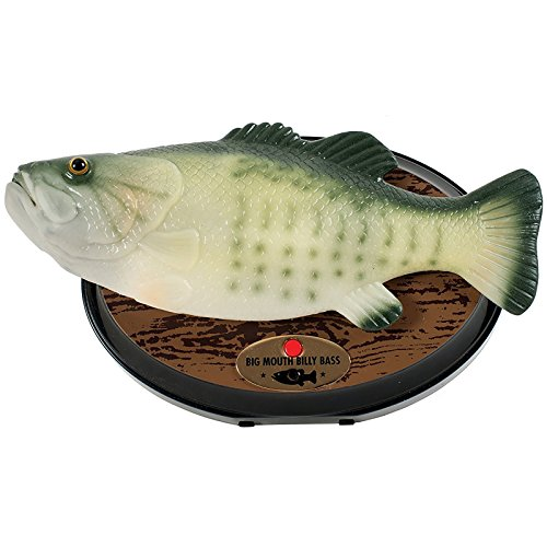 Big Mouth Billy Bass the Motion Activated Singing - Bass Outlets