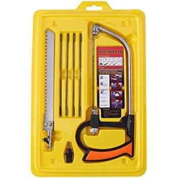 10pcs Multi-function Saw Set Household Manual Hacksaw Woodworking Tool for Cutting PVC/ /Aluminum/Glass/Plastic