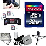 Transcend 32GB High Speed Memory Card KIT for PANASONIC Lumix DMC-T6