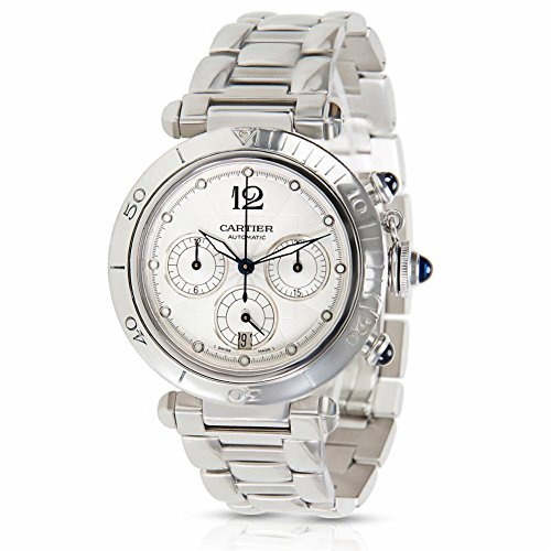 Cartier Pasha Seatimer Chrono automatic-self-wind mens Watch W31030H3 (Certified Pre-owned)