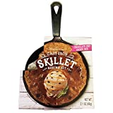 Chocolate Chip Cookie Skillet Baking Kit! Includes Cast Iron Skillet and Chocolate Chip Cookie Mix! Great Fun and Tasty Personal Dessert for Birthdays Or Special Occasions! (Cookies)