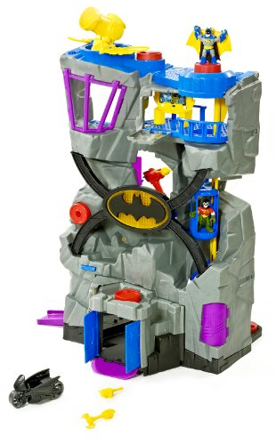 Fisher-Price Imaginext DC Super Friends Batcave (Frustration-Free Packaging)