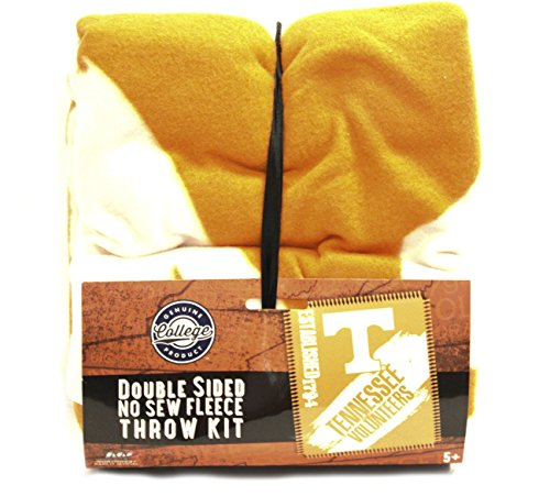 The Northwest Company NCAA Tennessee Volunteers Double Sided No Sew Fleece Blanket ()