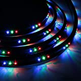 New Waterproof Multi-Color Led Under Car Light Strip Underbody W/ Remote