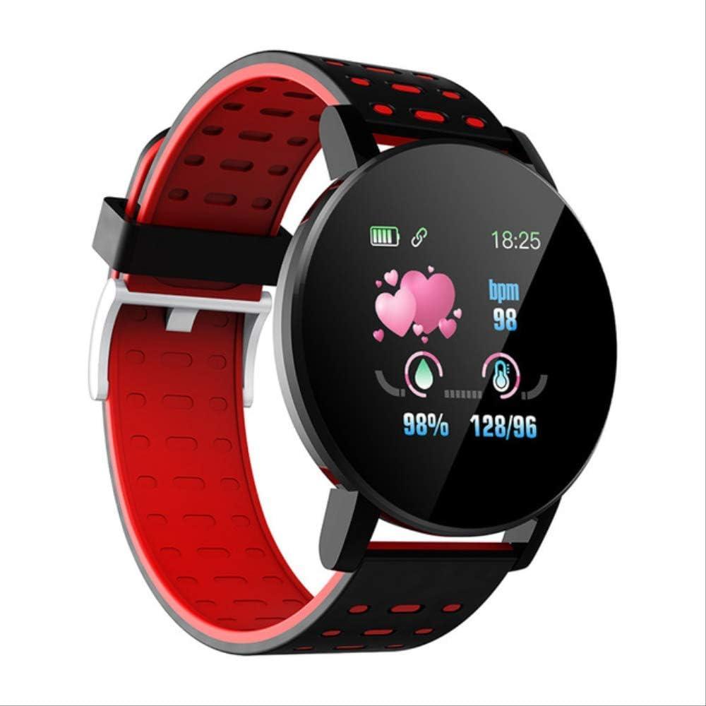 DAJUZI 2020 Nuevo Reloj Inteligente Medición de presión Ronda Bluetooth Smartwatch Podómetro Deportivo Rastreador de Ejercicios Relojes Inteligentes Impermeable