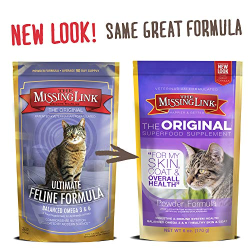 The Missing Link - Original All Natural Superfood Cat Supplement - Balanced...