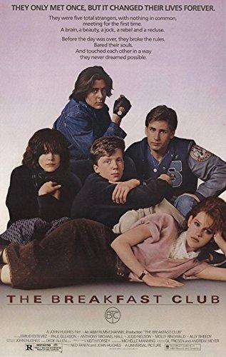 Buyartforless The Breakfast Club 1984 36x24 Cult Movie Art Print -