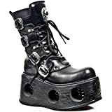 NEWROCK New Rock Boots Style M.373 S2 Spring Black Unisex