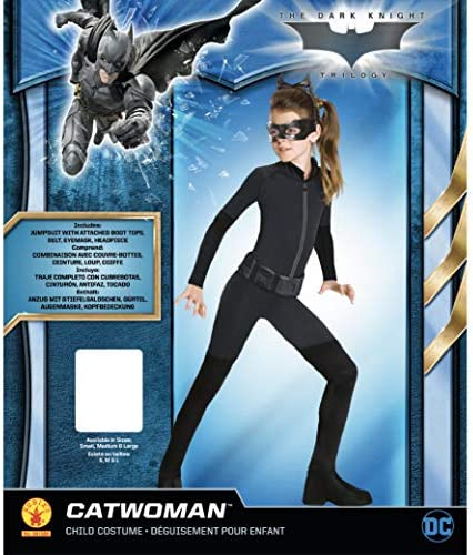 Multiple Sizes Available Catwoman Dark Knight Child Girl/'s Costume