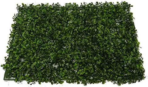 SZ Plancha Alfombra de Césped Artificial 60 * 40cm Jardín Vertical Decoración Interior Pared Hierba (Boj): Amazon.es: Hogar