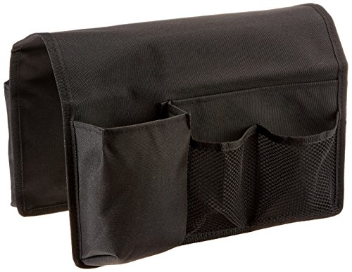TravelWell Arm Chair Sofa Caddy -TV Remote Control, Tools...