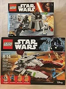 LEGO Star Wars Republic Fighter Tank & LEGO Star Wars First Order Battle Pack