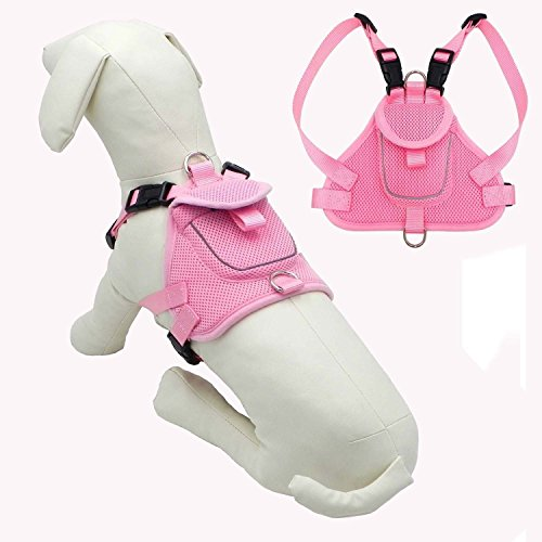 Compare price to pink dog backpack harness | TragerLaw.biz