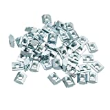 Yingte 50pcs M6 T Sliding Nut Carbon Steel T Sliding Nut for 2020 Aluminum Profile