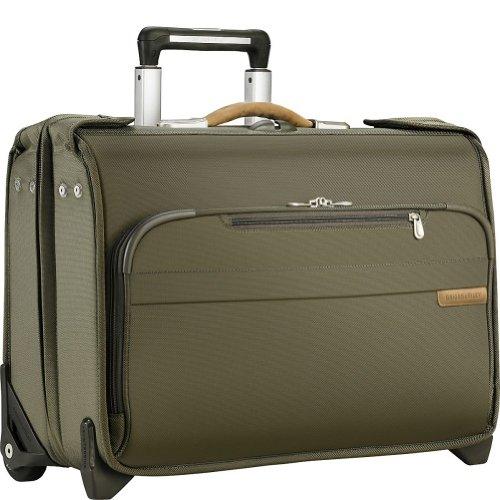 Olive Garment Bag - 8