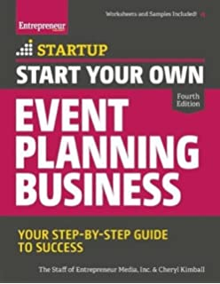 Event planning the ultimate guide to successful meetings corporate start your own event planning business your step by step guide to success malvernweather Images