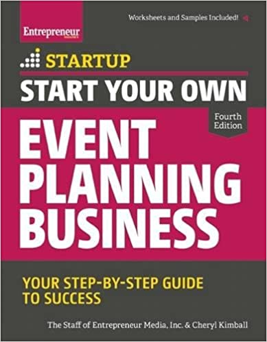 event planning certification best event planning books
