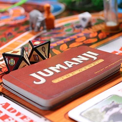 Jumanji el juego – Un juego de sociedad y juego familiar para aventureros de edición alemana.: Amazon.es: Juguetes y juegos