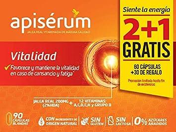 Apisérum Pack Vitalidad Cápsulas - 3 meses de tratamiento ...