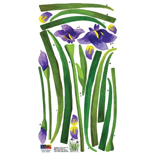 Vinilo Decorativo Pared [01F4YJ7A] flores