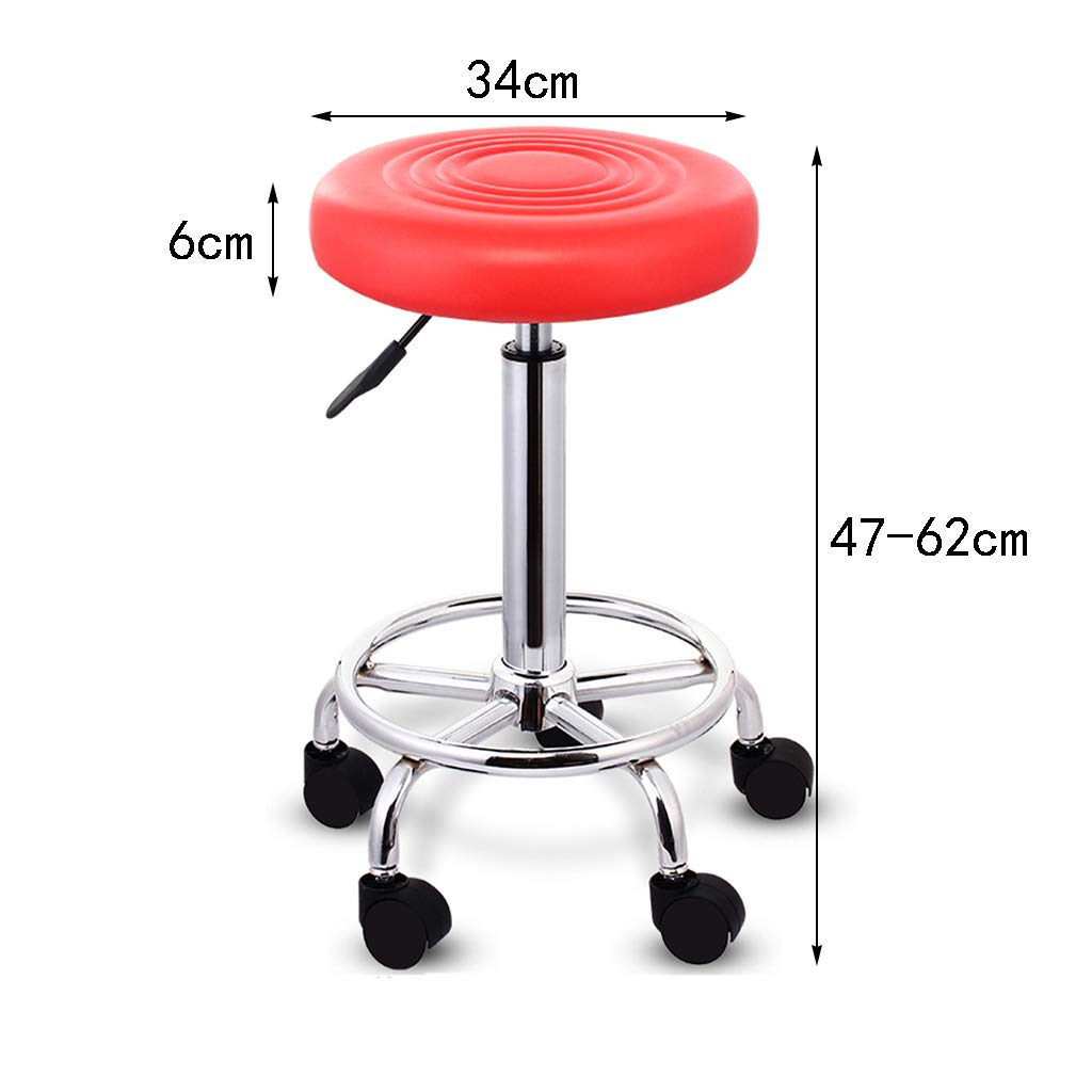 Amazon.com: AIDELAI Bar Stool- Chair, bar Chair Round Swivel Chair ...