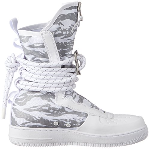 Nike Heren Sf Air Force 1 Hi Premium Boot Steenbok Wit Aa1130-100 Wit / Wit / Wit