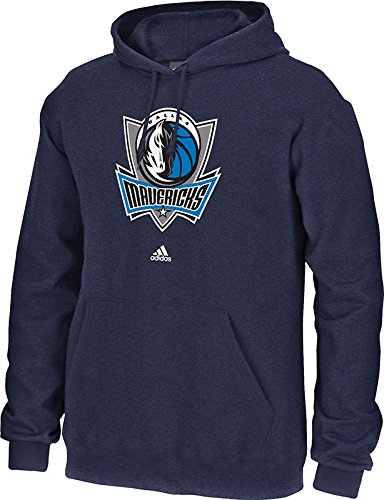 Adidas Dallas Mavericks Sweatshirt (adidas NBA Dallas Mavericks Men's Full Primary Logo Fleece Hoodie, Large, Navy)