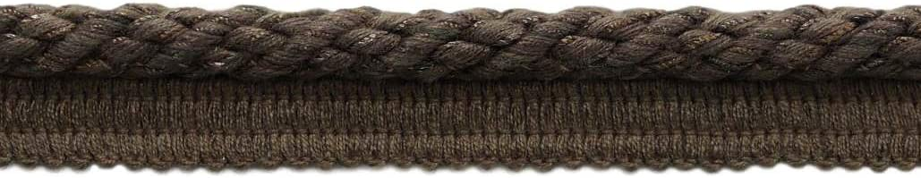 K9 Sold by The Yard Black Style# 0316NL Color: Black D/ÉCOPRO Small 3//16 inch Basic Trim Decorative Rope