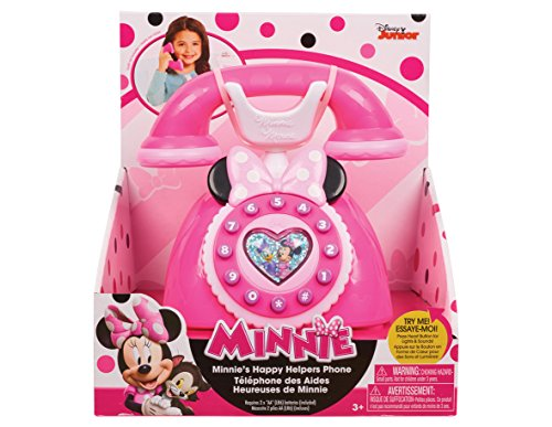 (Just Play Girls Minnie Happy Helpers Rotary Phone Playset)