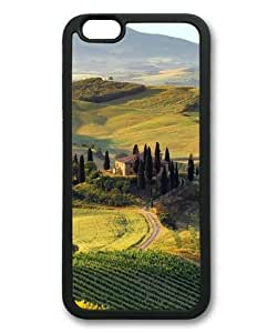 Tuscany Natural Scenery-5 iPhone 6 Plus (5.5 inch) Black Sides Rubber Shell TPU Case by Sakuraelieechyan
