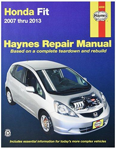 Haynes Repair Manuals 42030 Technical Repair Manual (Manual Fit Honda)