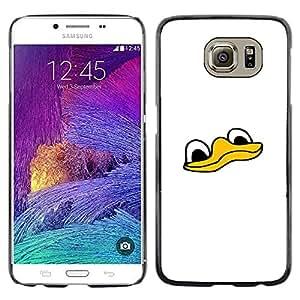 Stuss Case / Funda Carcasa protectora - Cute Funny Duck Face - Samsung Galaxy S6