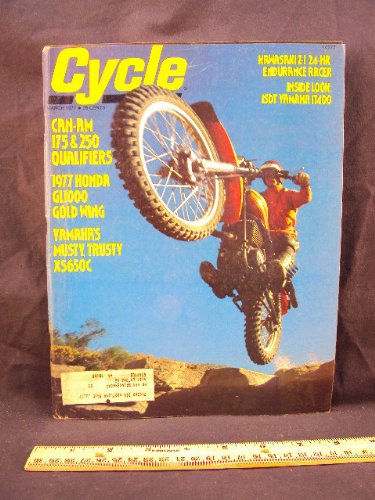 1977 77 March CYCLE Magazine (Features: Road Test on for sale  Delivered anywhere in USA