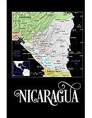 Nicaragua: Map of Nicaragua Notebook