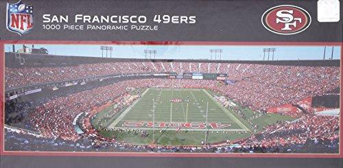 MasterPieces NFL San Francisco 49ers Stadium Panoramic Jigsaw Puzzle, 1000-Piece