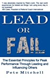 Lead or Fail, Pete Mitchell, 0975481916
