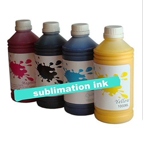 4 * 1000 ml GOWE mucho surtidor recambio tinta de sublimación (de ...