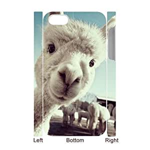 3D Bumper Plastic Case Of Lama Pacos customized case For Iphone 4/4s