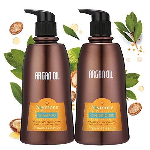 Skymore 350ml Argan Oil Shampoo and Conditioner, Hair Loss Shampoo, Hair...