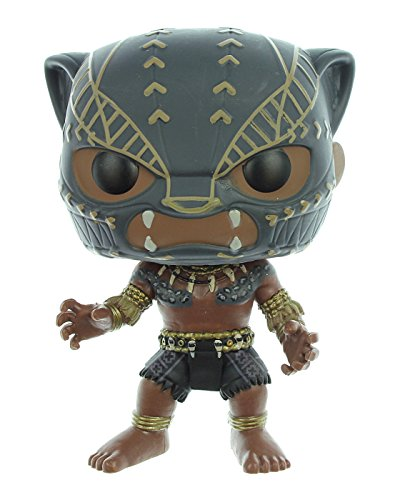 Funko POP! Marvel: Black Panther Movie - Black Panther (Warrior Falls) Collectible Figure