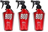 #9: BOD Man Most Wanted, Fragrance Body Spray, 8 Fluid Ounce. Pack of 3.
